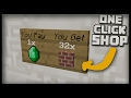 How to Make a COMMAND BLOCK SHOP in Minecraft!