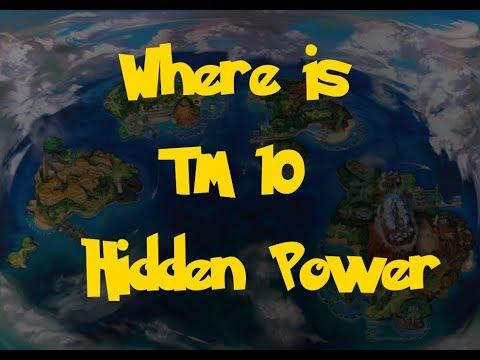 Where Is: TM 10 - Hidden Power (Pokemon Ultra Sun and Moon)