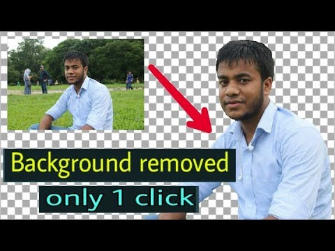 how to removed image background only 1 click magic effiect on android by background eraser app