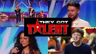BGT - Best Singers Auditions ever - Part 1