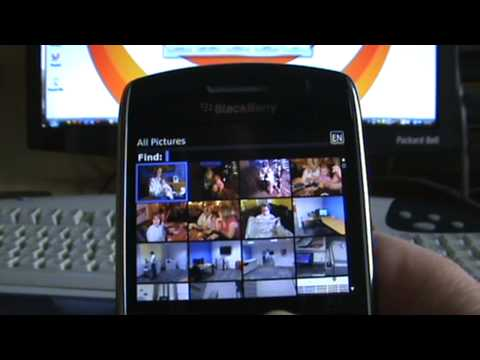 Printing photos directly from a BlackBerry smartphone