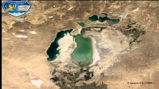 Aral Sea - Animation 1960-2014