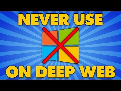 NEVER Use Windows On The Deep Web!