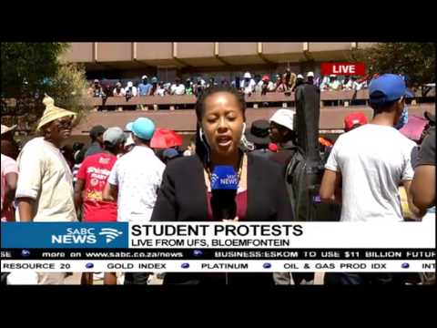UFS students protest