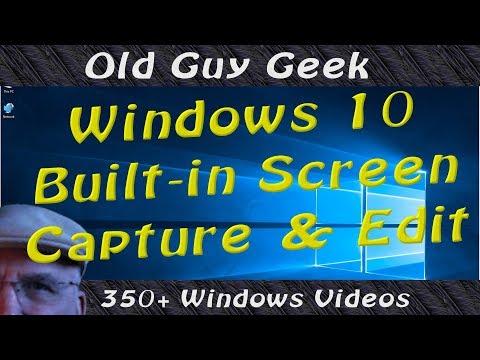 Capture and Edit Your Desktop with Built-in Screen Sketch in Windows 10