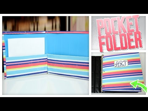 DIY Folder Made From Cereal Boxes! - Do It Gurl