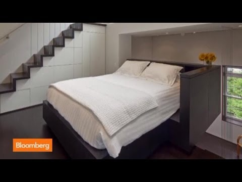 NYC's Tiniest Apartment? The 425-Sq. Ft. Micro Loft