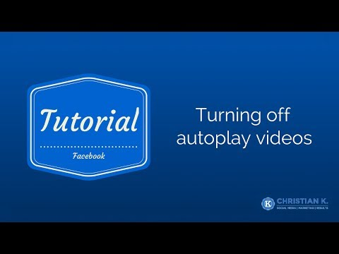 How to disable Facebook autoplay video in your news feed