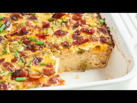Bacon and Egg Breakfast Casserole
