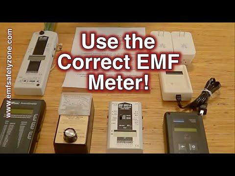 EMF Meter - EMF Measurement - Basic Education: Using the Correct EMF Meter