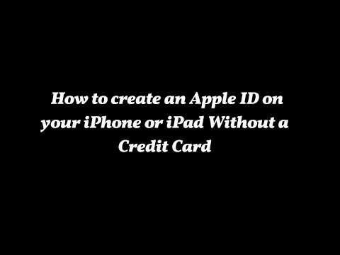 How To Create An Apple ID Without Credit Card  Updated 2017