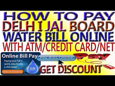 How to Pay Water/Electricity/MTNL Bill Online & get cashback.Best Way to Pay Water Bill online.Hindi
