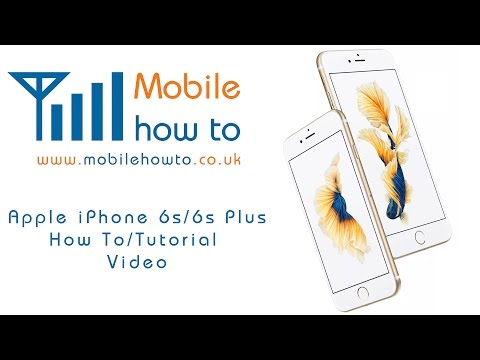 How To Monitor Mobile Data Usage - Apple iPhone 6s/6s Plus