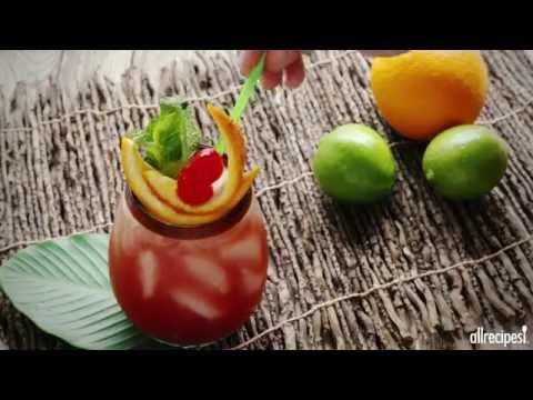 How to Make Sunset Rum Punch | Tiki Tuesday Recipes | Allrecipes.com