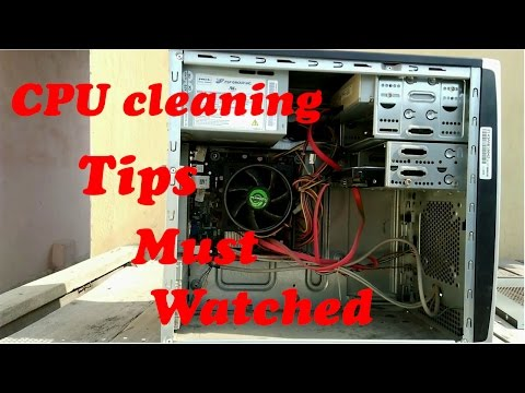 CPU cleaning tips  Must watch ( pc user) Hindi