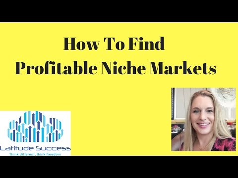 How To Find Profitable Niche Markets