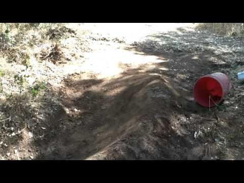 BMX Trails: Berm; NEW section, Dirt jumps: MY TRACK UPDATE (1080p)