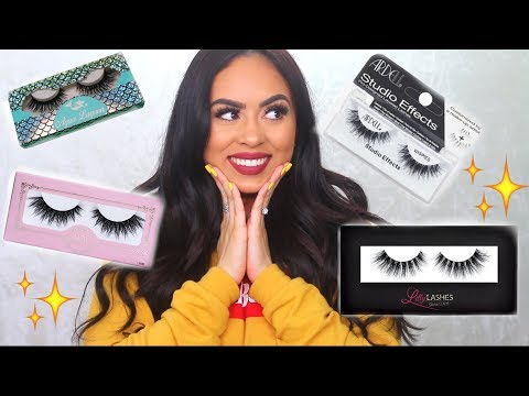 BEST FALSE LASHES TO SPEND YOUR MONEY ON | VALE LOREN