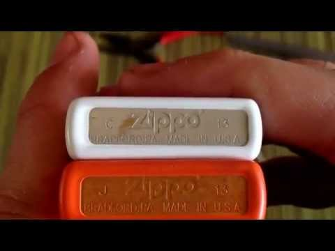 Zippo how to : change a wick