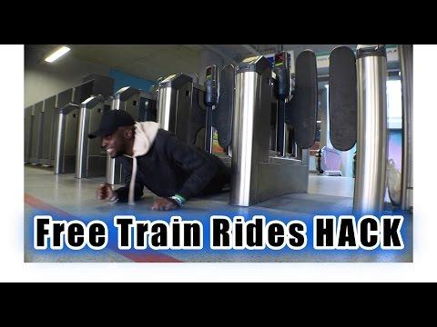 London Hacks - Free Train Ride ( pt 1 )