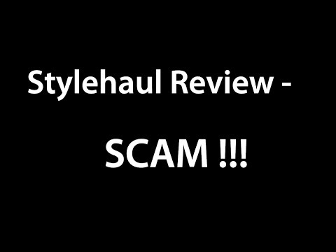 Stylehaul Review - SCAM Company !! About Partnership stylehaul inc on Youtube + stylehaul revenue