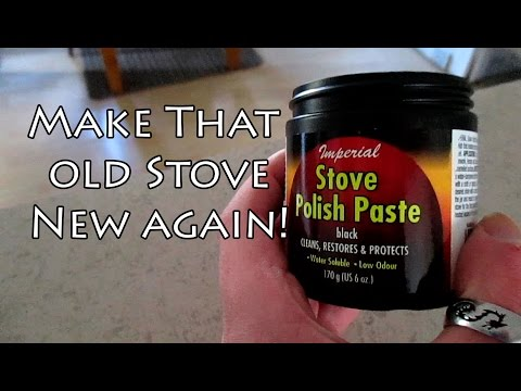 How to Polish Up Your Old Cast Iron Wood Stove