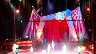 #8 Clown Man David B. conductor with KIDS    RBBB CIRCUS 9 18 15