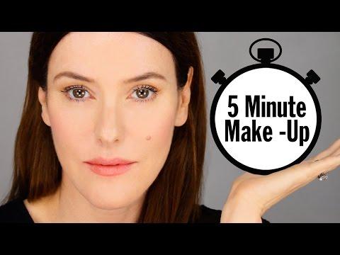 My 5 Minute Makeup Look