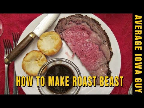 How to Make Dry Aged Prime Rib
