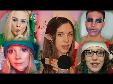 ASMR Christmas Elf Training W/ Rapunzel, ASMR Creations, Tony and Karuna