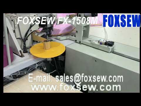 Tractor Machine for Heavy Duty Tape Binding Sewing Machine with Edge Cutter