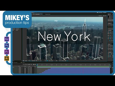 Add sketch style drawing over stock footage