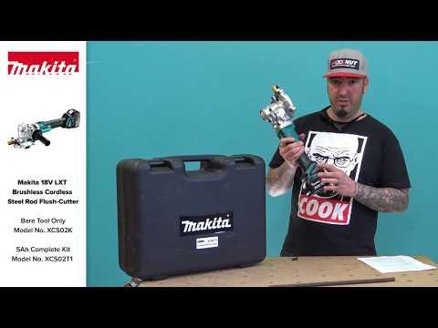 Makita 18V LXT Brushless Cordless Steel Rod Flush Cutter XCS02