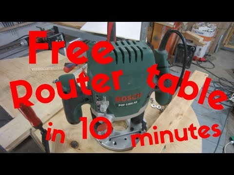 Free Router table in 10 minutes