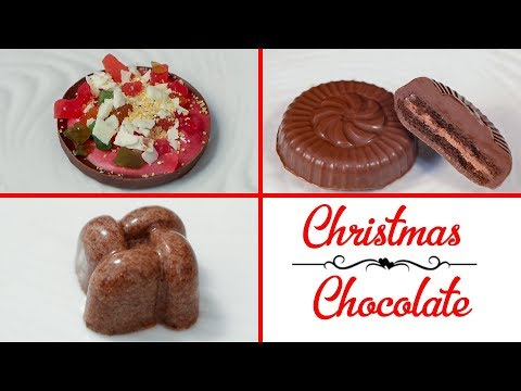 3 Chocolates Oreo Pizza Bournvita Christmas Recipe In 5 Minutes Quick & Easy Homemade Chocolates