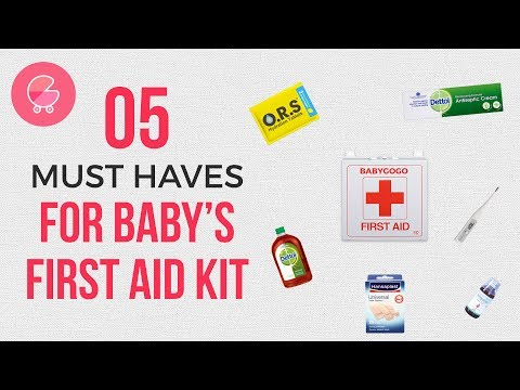 First aid for kids | 5 essential items for safety & accident prevention at home