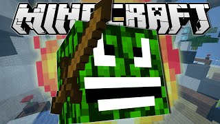 Minecraft | ANGRY LEAF BLOCK!! | Hide N Seek Minigame