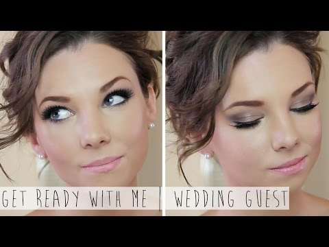 Get Ready With Me Wedding Guest | Hair & Makeup