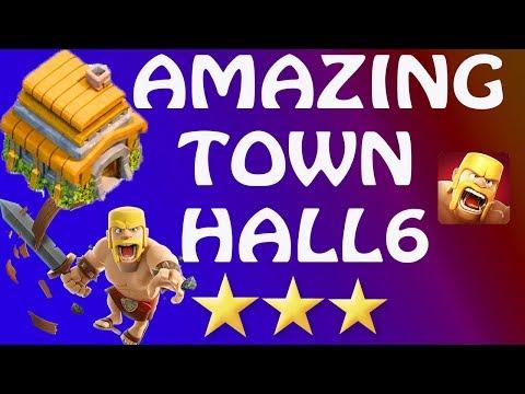 (HINDI) clash of clans town hall 6 amazing secrets