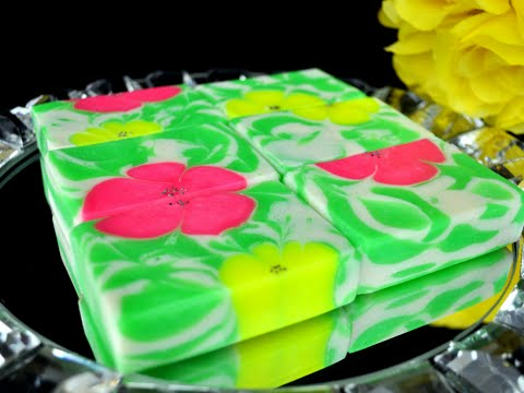 Flowers in Bloom Too Hot Process Soap