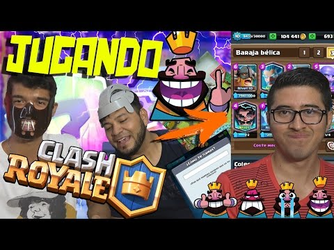 Jugando CLASH ROYALE Con Falcony