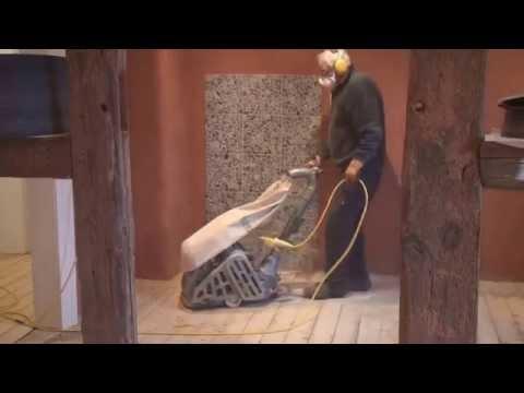 Restoring 100 year old wooden floors