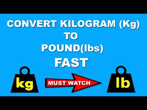 Fast Maths Trick to Convert Kg to pound in a Few Seconds in Mind - Hindi