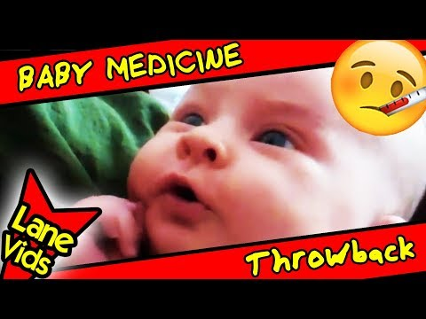 Medicine for Baby Cough | 1 Month Old Baby Girl | #TBT
