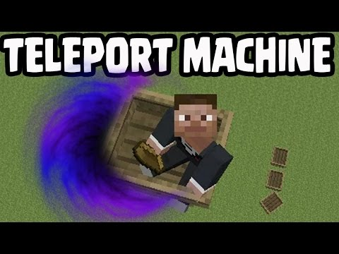 AMAZING!! Minecraft PS3, PS4, Xbox360 - FLYING BOAT TELEPORT MACHINE!
