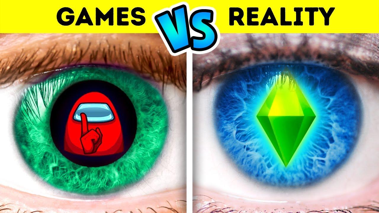 Games VS Reality Challenge | Sister VS Brother  – by La La Life Games
