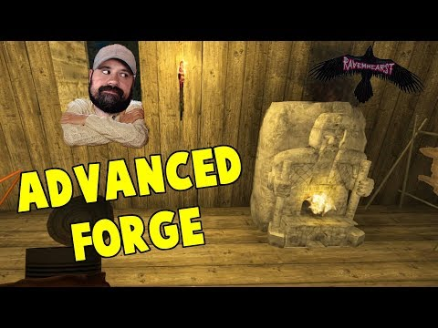 Advanced Forge   Ravenhearst 3   7 Days To Die Alpha 16 Multiplayer Gameplay PC   S2 E16