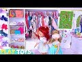 Baby Doll Twins Dress Up Makeup Toys In Moms Bedroom