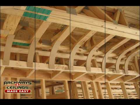 What is a Coved Ceiling?