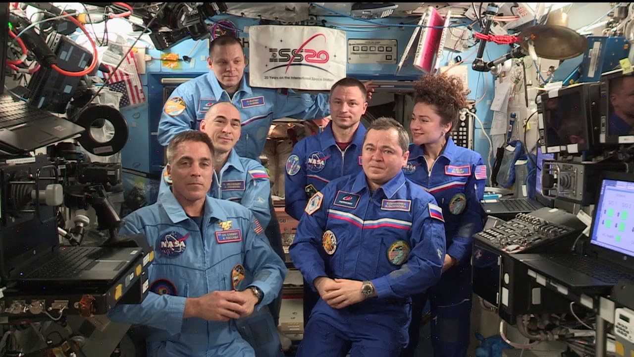 Expedition 62 to 63 Change of Command Ceremony - April 15, 2020